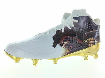 newest abce7 d7b1d Adidas adizero 5-Star 5.0 UNCAGED Mid Men s Football Cleats AQ7812 MSRP  125