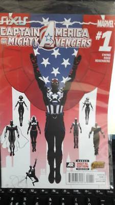 Captain America and the Mighty Avengers bagged (Marvel NOW) #1-1ST 2015 NM