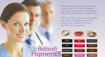 Biotouch Micropigment   Lip Colours  (Approved Distributor)