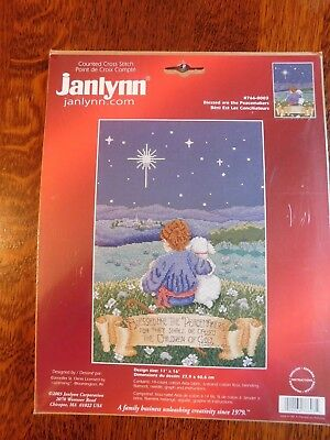 Blessed are the Peacemakers Janlynn Counted Cross Stitch Kit Vintage 766-0003