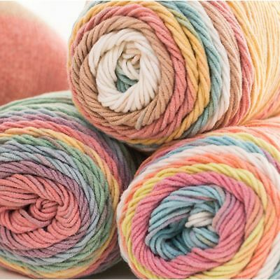 100grams Color Sweater DIY Cotton Crochet Knitting Hand-woven Wool Yarn