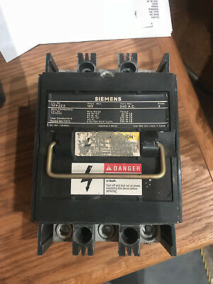 Siemens T-Fuse Pullout TFP323 100A 240V 3P Used