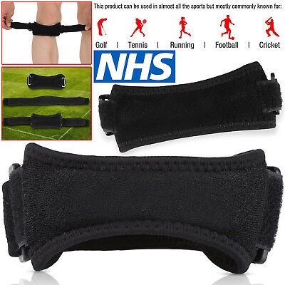 Adjustable Patella Tendon Strap Knee Support Jumpers Runners Pain Band Brace UK