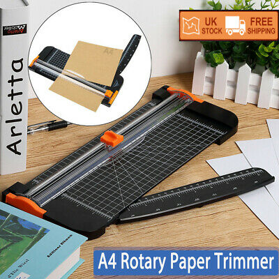 Heavy Duty A4 Photo Rotary Paper Cutter Guillotine Card Trimmer Ruler Office Art