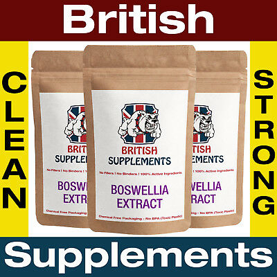 Boswellia Serrata Extract Capsules Anti Inflammatory Indian Frankincense Pain OA