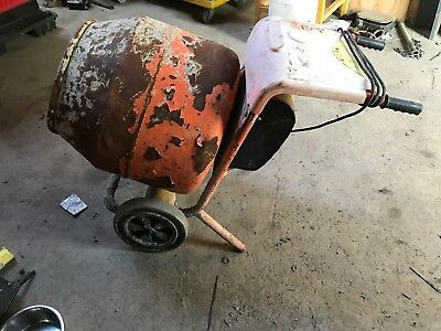 Belle 150 Cement Mixer 110 Volt No Stand Spares Or Repair