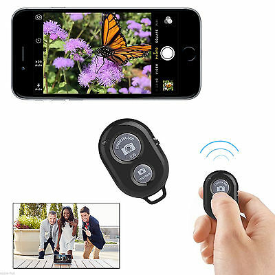 Wireless Bluetooth Remote Shutter Button For Selfie Stick Monopod Phone Pole