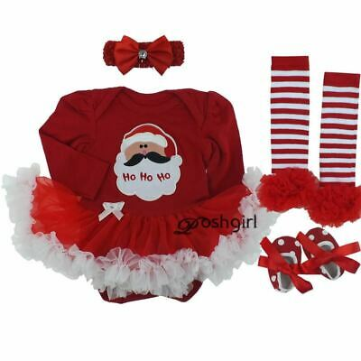 Infant Baby Girl Suumer Suit Novelty Costume Baby Christmas Clothing Sets Bebe R