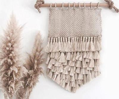 The Dharma Door - Jute tassel wall hanging