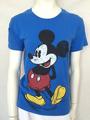 MICKEY MOUSE Classic Vintage TEE T-SHIRT TOP! S NEW Disney Store - Disneyland CA