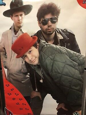 Original 1987 Beastie Boys Record Store Poster Richard House Ultra Rare