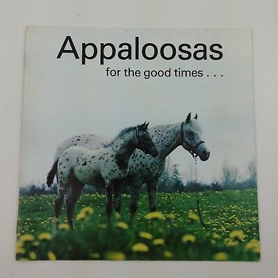VINTAGE HORSE BOOK LOT 5 Barrel Racing Appaloosa Show & Win