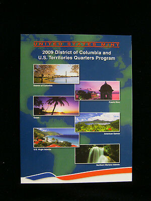 US Mint 2009 District of Columbia and US Territories Quarters Program