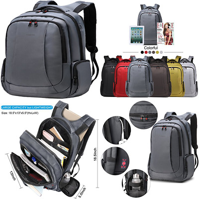 """LAPACKER Lightweight Business Laptop Backpacks For Men Fits Up To 15.6"""" Computer"""