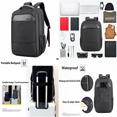 "Laptop Backpack Ericbest Business For 13.3 16"" Men Women School Bag Water Resist"