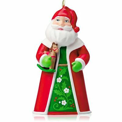 2014 Hallmark SANTA THE TOY BRINGER Miniature mini ORNAMENT