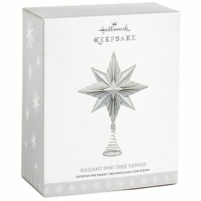 2017 Hallmark RADIANT MINI Star miniature TREE TOPPER