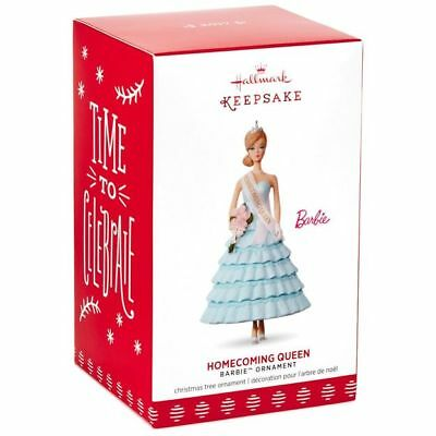 Barbie Homecoming Queen 2017 Hallmark Barbie Doll Ornament  Fashion  In Stock