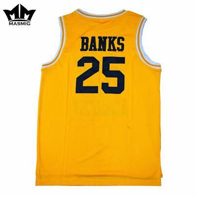 e5d694a1c Carlton Banks Bel-Air Academy Fresh Prince of Bel Air Basketball Jersey