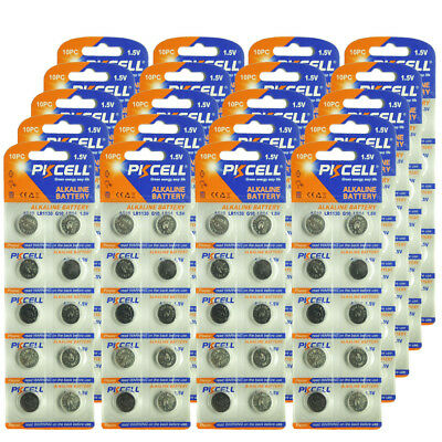 500pcs AG10 1.5V LR1130 SR1130 LR54 SR54 389 189 G10 Button Cell Coin Batteries
