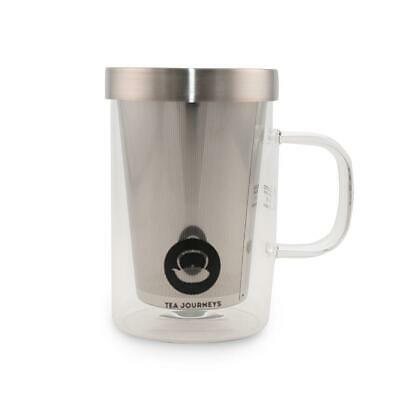 500 ML SAMADOYO TEA INFUSER MUG + 2 free tea samples of your choice!