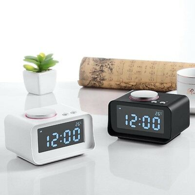 K1 Bluetooth Digital Alarm Clock W/ Speaker LED Display/FM Radio/Mp3 Player lot