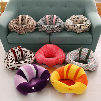 14 Color Cotton Baby Support Seat Soft Chair Car Cushion Sofa Plush Pillow Multi