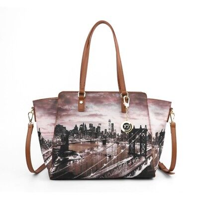 BORSA Y NOT New York East river k-398 Shopping grande - EUR 94 1b078c35d94