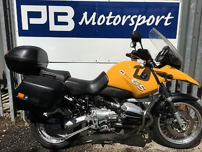 BMW R 1150 GS 2001 MODEL WITH FSH (10 STAMPS), 3 x LUGGAGE, ENGINE BARS, 12 MOT