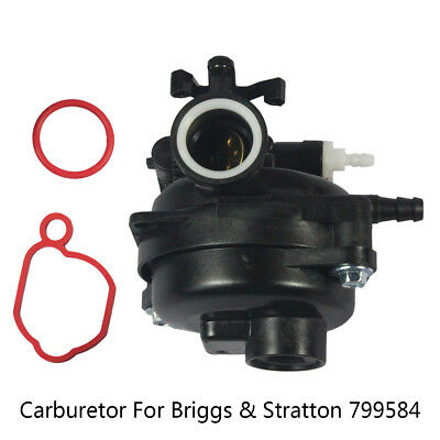 Hot Carburetor with Seal Ring Replacement Fit For Briggs & Stratton 799584 Carb~