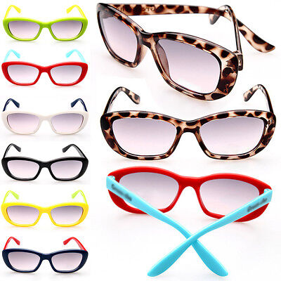 Sport UV Protection Kids Sunglasses Boys Plastic Glasses Frame Girls Fashion
