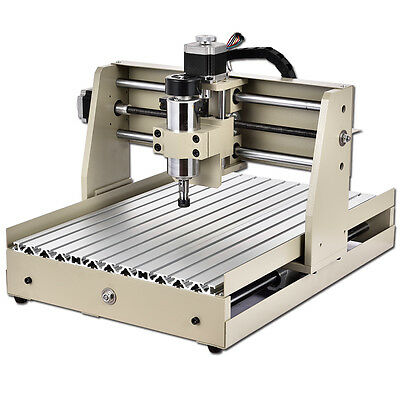 4Axis CNC 400W 3040T Router Engraver Engraving Machine 3D Carving Cutting Cutter