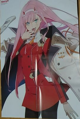 Darling in the Franxx & Beatless Reversible Big Poster Redjuice LACIA Zero Two