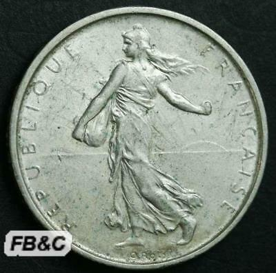 1962 France 5 Francs Silver Coin KM#926