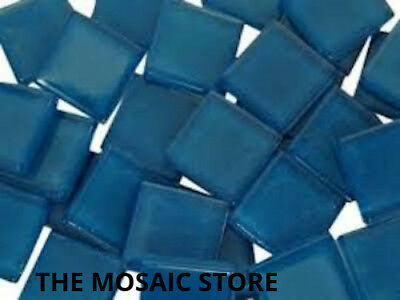 Blue Crystal Glass Mosaic Tiles 2cm - Mosaic Art Craft Supplies