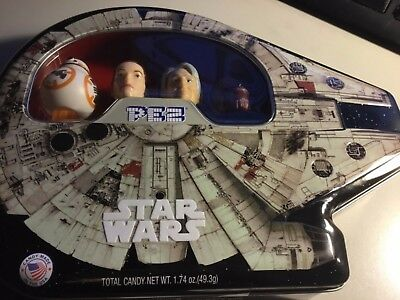 Star Wars Pez Collectible Gift Tin,  2017