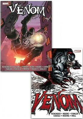 Venom The Complete Collection 2 Books Set By Rick Remender Comic & Graphic Novel