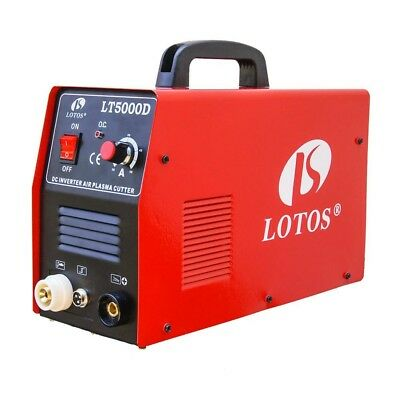 50 Amp Compact Inverter Plasma Cutter for Metal, Dual Voltage 110/220V By Lotos