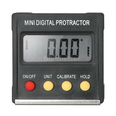 LCD Digital Protractor Inclinometer Level Gauge Angle Finder Magnetic Base N1E6