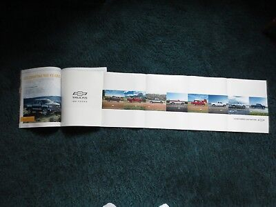 2018 CHEVROLET SILVERADO 100th ANNIVERSARY POSTER  NEW ROADS BROCHURE MAGAZINE