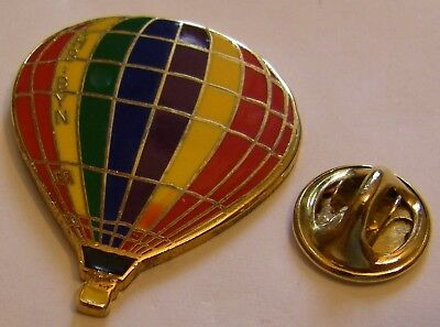 HOT AIR BALLOON HBIBYN vintage Pin badge