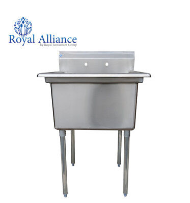 """Stainless Steel Utility Sink for Commercial Kitchen-23.5"""" Free Shipping"""
