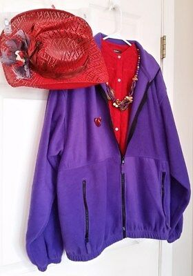 Red Hat Society Lot Jewelry