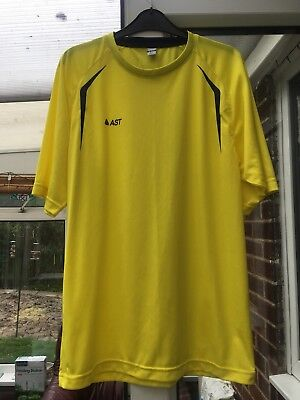Men's Football Tops Size Large Yellow X 8 Bundle