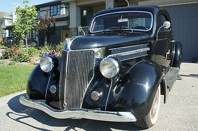 Ford: Model 68 3 Window Coupe 1936 Ford Model 68 (Custom)  3 Window Coupe