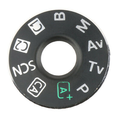 Dial Mode Plate Interface Cap Replacement Part For Canon EOS 6D with Tape