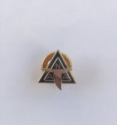 Vintage WWII North American Aviation NAA Employee Service Award Lapel Pin