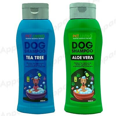 500ml Pet Dog Grooming Shampoo Aloe Vera  & Tea Tree Suitable For All Dogs Coat