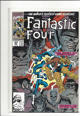 Fantastic Four #347, 348 Bagged and boarded when new.