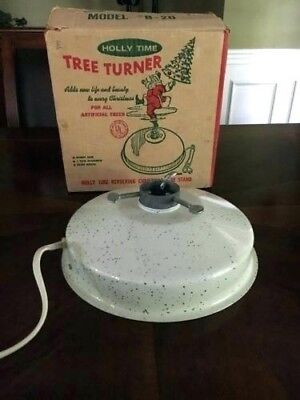 Holly Time Christmas Tree Turner B35 - Musical VINTAGE